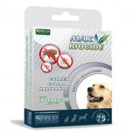 Zgarda NBP antiparazitara bio pentru câini, 75 cm