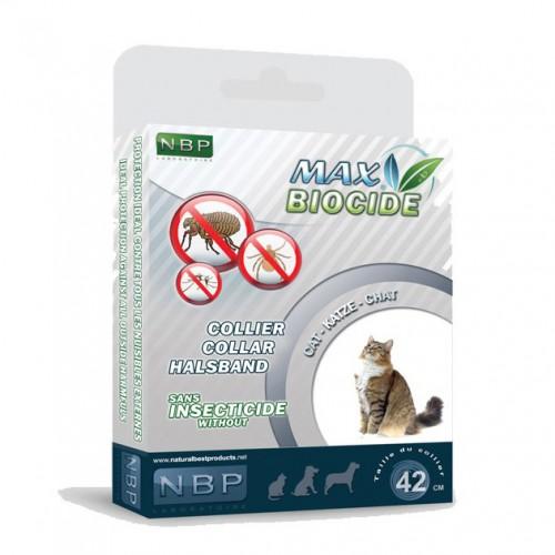 Zgarda NBP antiparazitara bio pentru pisici, 42cm