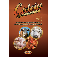 Calciu Gold VITAMINIZAT 6kg