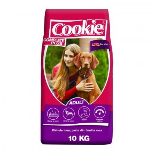 Hrană uscată pentru câini, vită, Cookie, 10kg